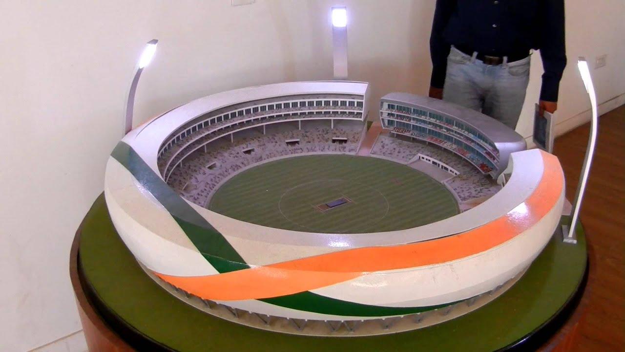 Jaypee Sports City Cricket Stadium - YouTube