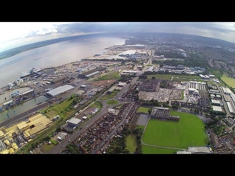 East Hull and area from H501s drone.