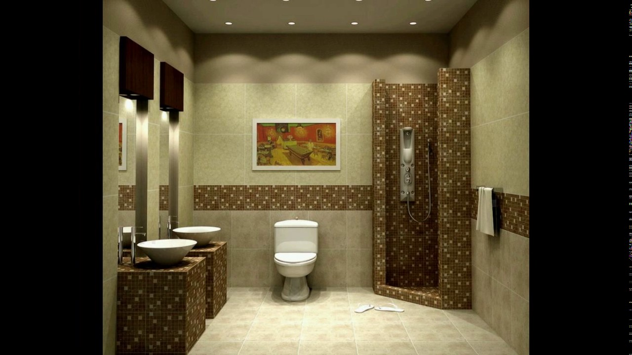 Bathroom tiles design in pakistan - YouTube