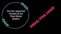 My experience with getting pre-approved for a USDA Rural Development/FHA House Loan