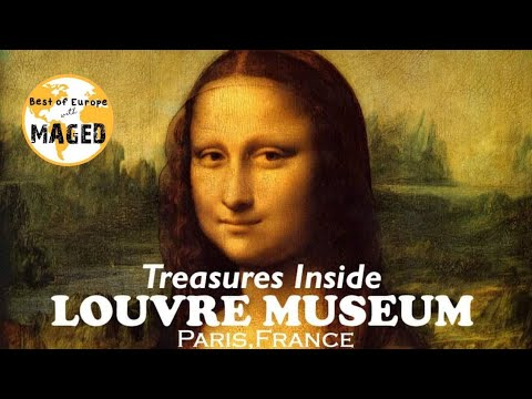 TREASURES OF LOUVRE MUSEUM - PARIS, FRANCE (SCULPTURE, PAINTINGS AND COLLECTIONS)