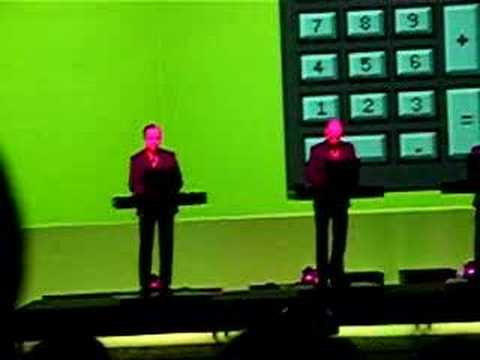 kraftwerk mini kalkulator pocket calculator live in warsaw youtube. Black Bedroom Furniture Sets. Home Design Ideas
