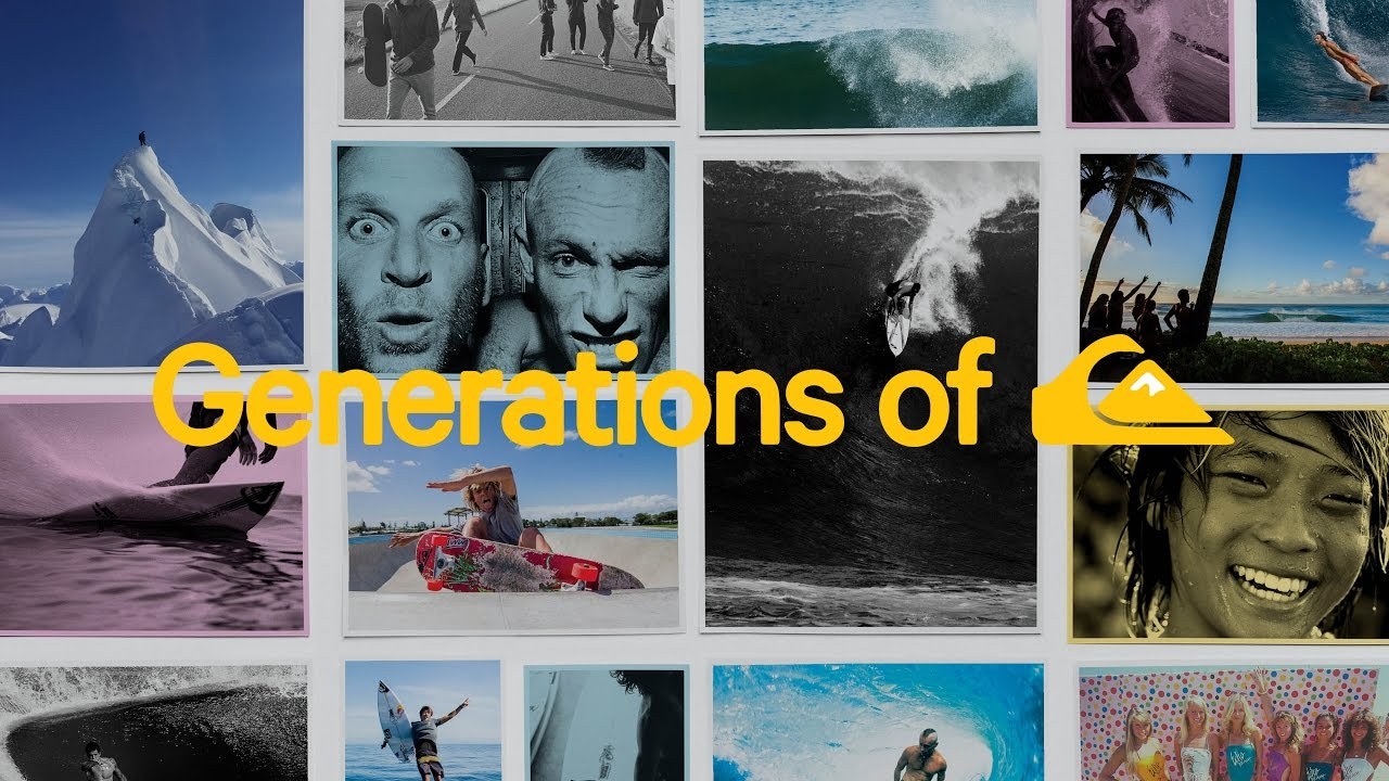Generations of Quiksilver