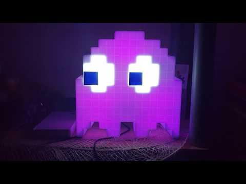 Pac-Man Ghost Colour Changing Light