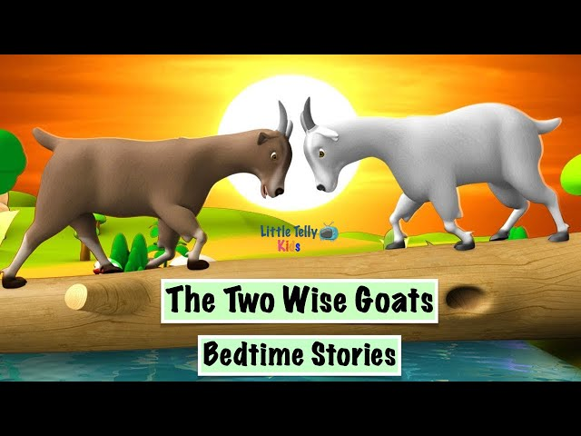 The Two Wise Goats || Bedtime Stories || Moral Stories || Peaceful & Relaxing || Story Series ||