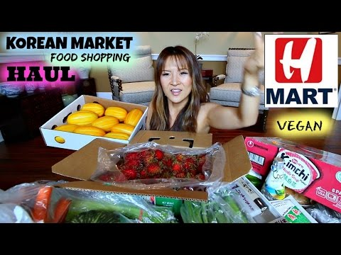 H-MART FOOD HAUL • Korean supermarket