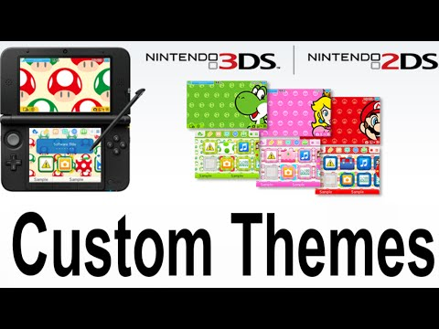 3DS 2DS Update Change Home Menu Themes Backgrounds and Music