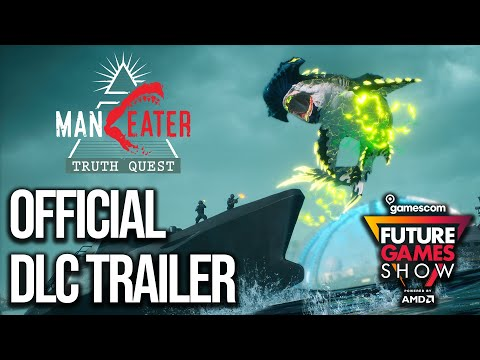 Man Eater Truth Quest DLC Trailer - Future Games Show Gamescom 2021