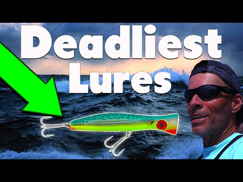 Deadliest Lures To Catch Monster Trout And Redfish Surf Fishing