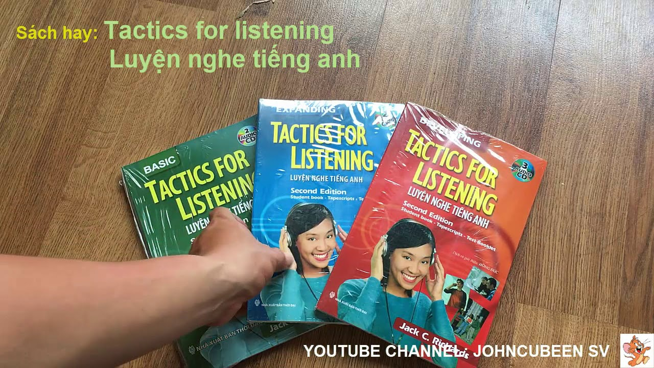 Sách – Tactics For Listening Luyện Nghe Tiếng Anh