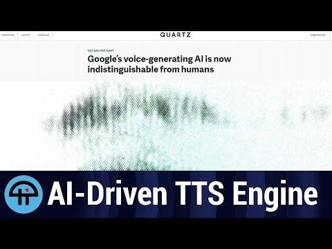 Google's AI-driven TTS engine