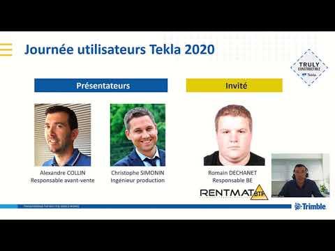 Rentmat BTP, utilisateur des solutions BIM Tekla, témoigne / (How Rentmat BTP uses Tekla Structures)
