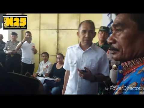 Gubernur Maluku melakukan kunjungan saat pemilihan