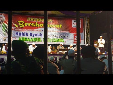 Grobogan Bersholawat Bersama Habib Syech Bin Abdul Qodir Assegaf (Full) - Part 1