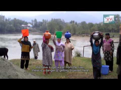 Water crises in Sheeri village of Kashmir. Abid Salam War Reports from Kashmir