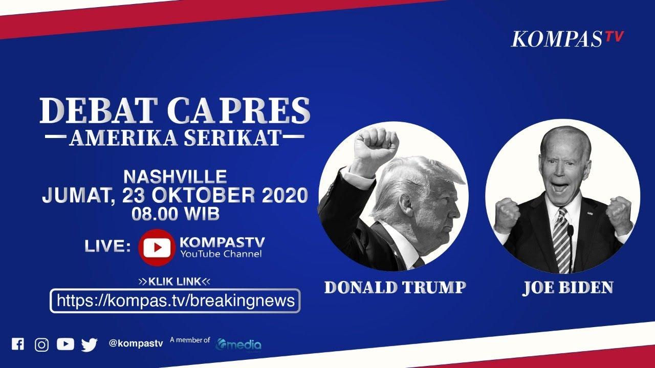 [LIVE] Debat Capres Amerika Serikat, Donald Trump vs Joe Biden