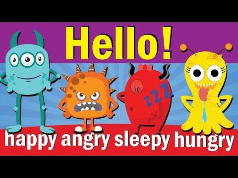 Hello Song #2   Hello How Are You   Hello Song for Kids   Kindergarten & ESL   Fun Kids English