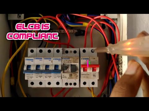 [DIAGRAM_5NL]  How to Home ELCB replacing ||ELCB connection||ELCB Fixing|house wiring|Earth  Leakage Circuit Breaker - YouTube | India News Home Wiring Basics |  | YouTube