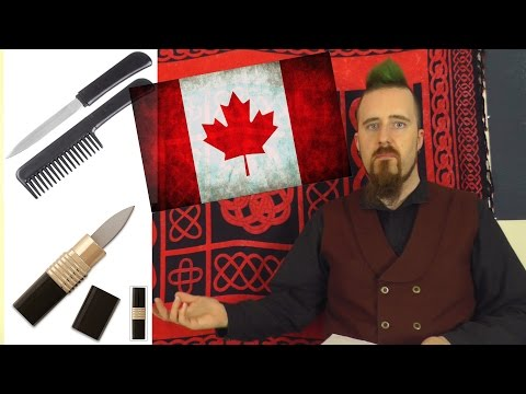 Knives that are prohibited in Canada (for no good reason)
