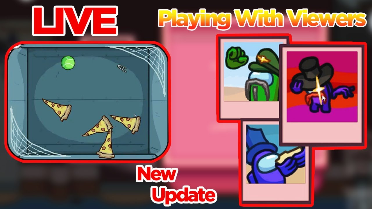 🔴Among Us New Update - Vent cleaning update Playing With Viewers! Join (15 Players Lobby)