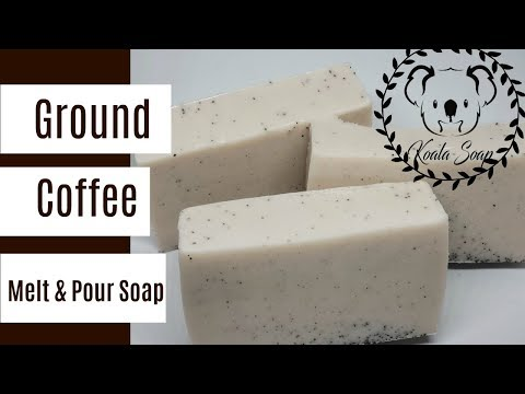 Melt And Pour Soap Making Coffee Soap With Shea MP Soap