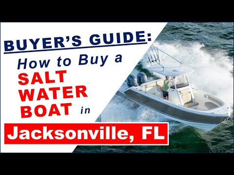 Boat Buyer's Guide:  How To Buy A Salt Water Boat Jacksonville FL Boats For Sale Center Console