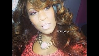 JAZZYJUJUBEE82 Shows how to get  ready with me Wearable Orange - A Summer Trend Makeup Tutorial