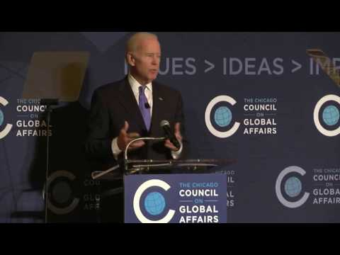 Joe Biden: Global Engagement in an Age of Uncertainty