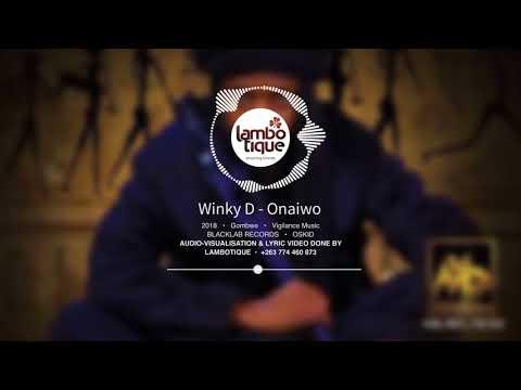 Winky D - Onaiwo (Lyric Video by Lambotique) [GOMBWE]