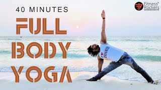 40 Min Daily Yoga Routine for Beginners | Full Body Yoga Flow | Online Yoga class in Hindi