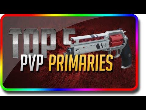 "Destiny 2 - ""Top 5 PvP Primary Guns"" in Crucible & PvP (Destiny 2 Black Armory DLC ""Top 5"")"