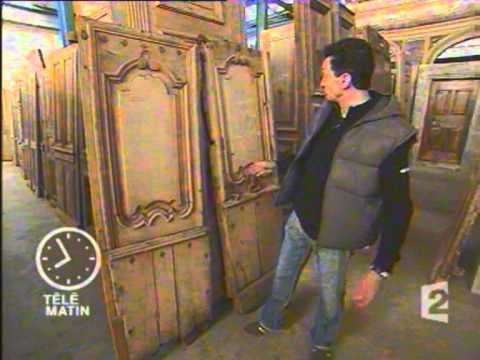 restauration portes anciennes youtube. Black Bedroom Furniture Sets. Home Design Ideas