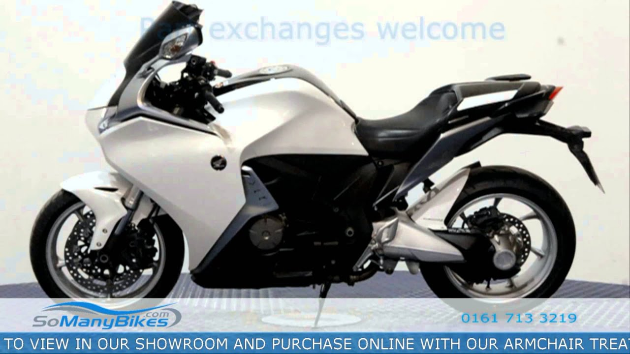 2012 honda vfr 1200 semi-automatic overview | motorcycles for sale