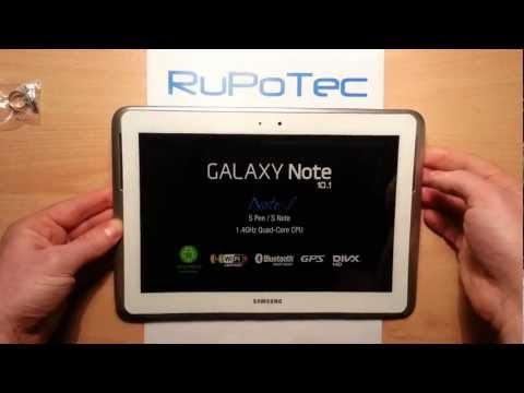 Обзор планшета Samsung Galaxy Note 10.1 Wi-Fi, 3G, 16GB, Android - Part 1