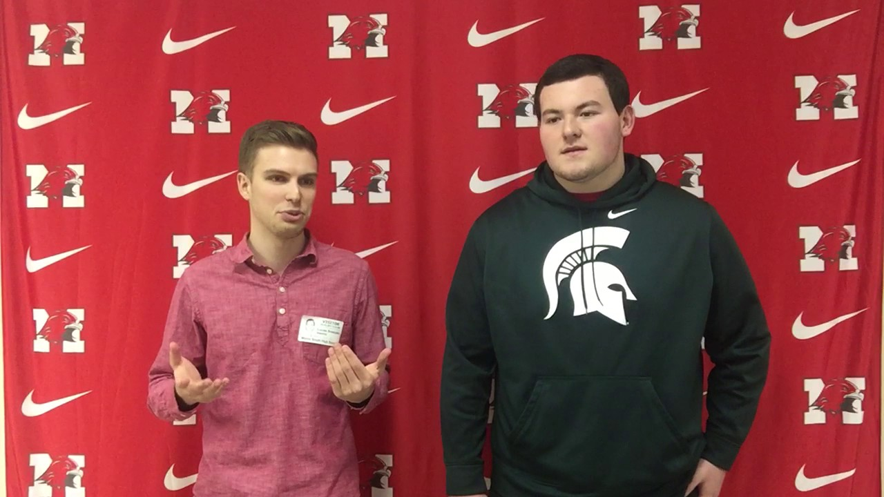 Michigan State signee Kevin Jarvis talks with Land of 10's ...