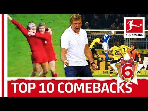 Top 10 bundesliga comebacks - bundesliga 2017 advent calendar 6