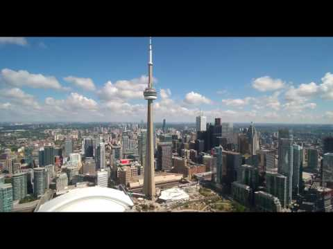 TORONTO Skyline, Drone footage!