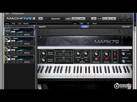 Motu MachFive 3 Mark 79 Electric Piano review