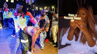 Stonebwoy Grinds Efya Infront Of His Wife - Dr Louisa Reacts