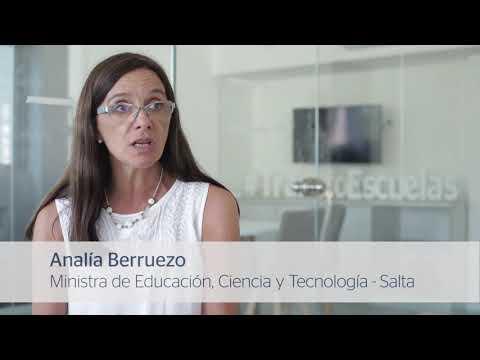 Capacitación al Ministerio de Educación, Ciencia y Tecnología de Salta - Analia Berruezo