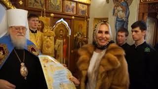 Митрополит Екатеринодарский и Кубанский Исидор посетил храм на старом Всехсвятском кладбище