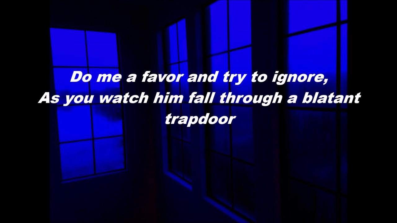 Twenty One Pilots - Trapdoor (Lyrics)  sc 1 st  YouTube & Twenty One Pilots - Trapdoor (Lyrics) - YouTube