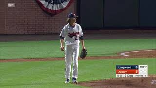 Auburn Baseball vs Longwood Game 1 Highlights