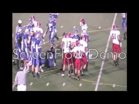 Chris White senior football highlights pt. 1