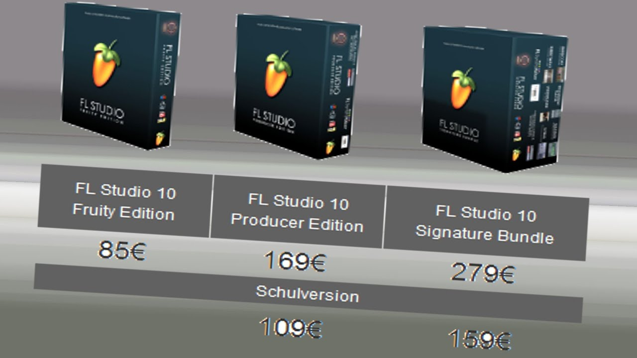 FL STUDIO FRUITY LOOPS WELCHE VERSION KAUFEN EDU Express Producer Signature  Bundle Edition GUTSCHEIN