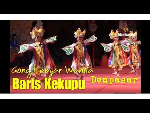 Gong Kebyar Wanita Denpasar 2019 - Tari Baris Kekupu
