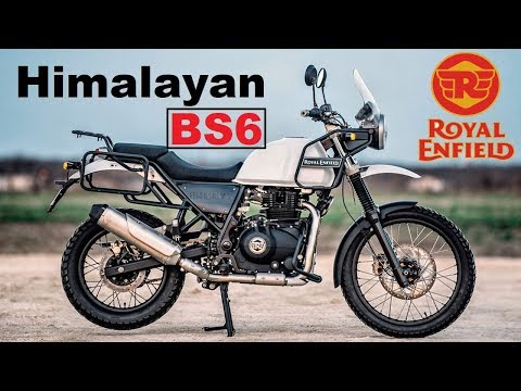 New Royal Enfield Himalayan BS6    Added features & many more    Explorers