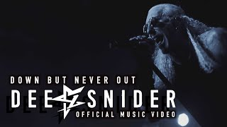 DEE SNIDER - Down But Never Out (Official Video) | Napalm Records
