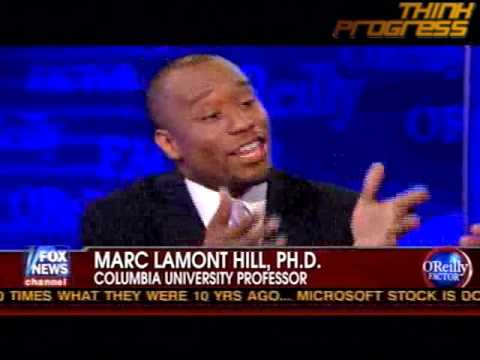 O'Reilly says Lamont Hill looks like a drug dealer