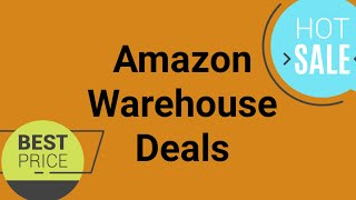 50% Off or More Amazon Warehouse Deals